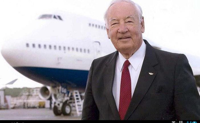 Fallece Joe Sutter «padre» del Boeing 747