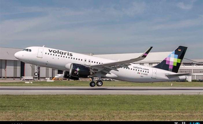 Aerolínea Volaris recibe el primer A320neo de norteamérica