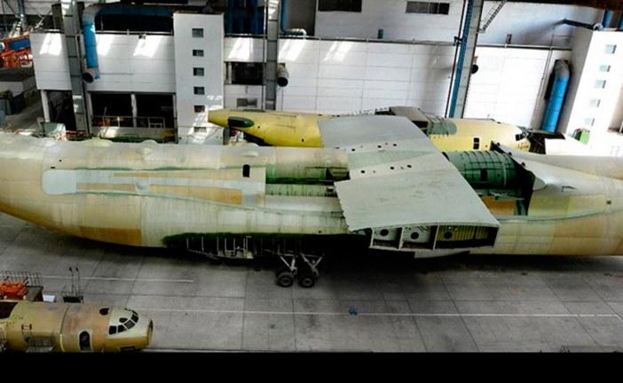 Antonov y AICC de China inician proceso de producción del AN-225