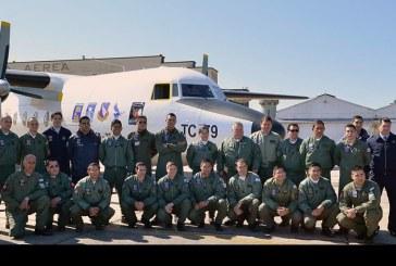 Histórico raid de despedida del Fokker F-27 de la Fuerza Aérea Argentina