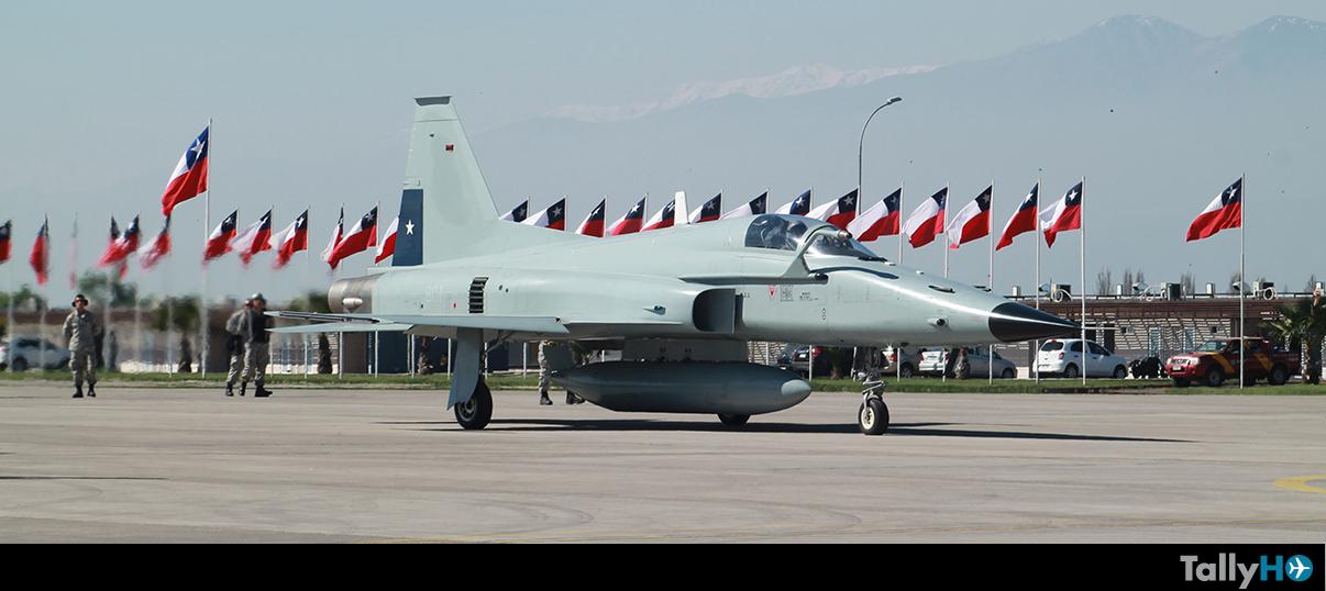Despliegue de aeronaves FACH en la Parada Militar 2016