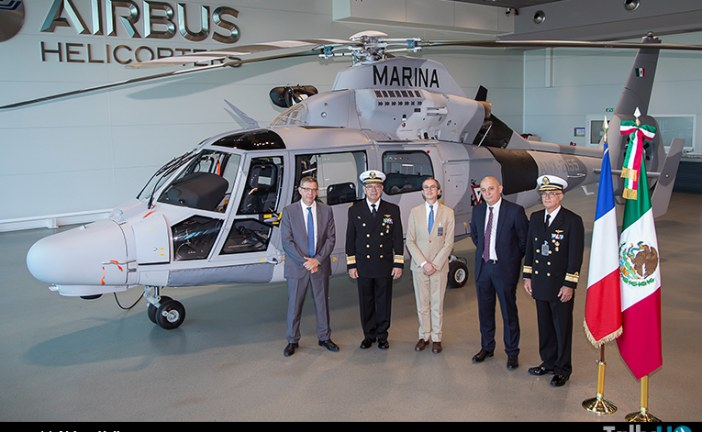 Marina Mexicana recibe primer AS565 MBe Panther
