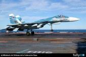 Con nuevas modificaciones los SU-33 operarán en Siria desde el portaaviones Admiral Kuznetsov