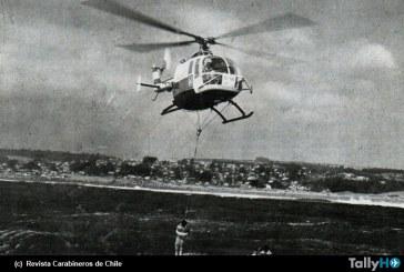 40 años de operaciones de los BO-105 en Carabineros de Chile