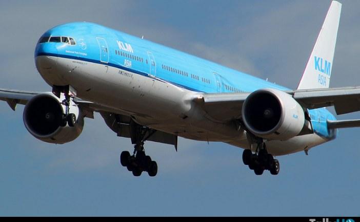 Celebración de 97 años de la Aerolínea KLM