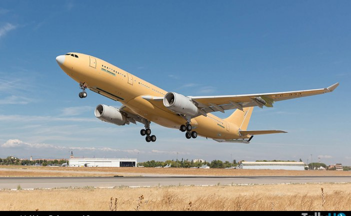 Primer vuelo de la nueva versión mejorada del A330 MRTT