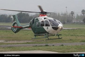 Prefectura Aérea de Carabineros recibió helicóptero H135