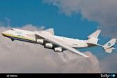 El gigante Antonov An225 Mriya visitaría Chile en noviembre
