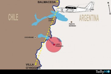 Encuentran en Argentina restos de avión Piper Aztec CC-CCH perdido hace casi 20 años