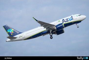 Aerolínea Azul de Brasil recibe su primer A320neo