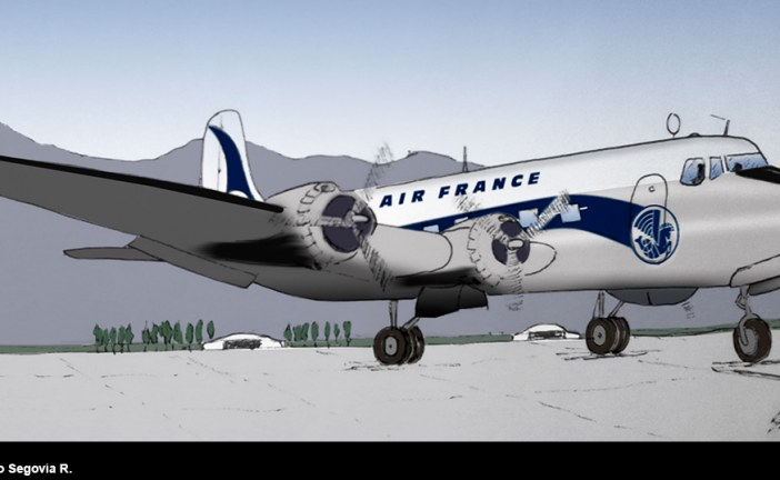 80 años del primer vuelo de Air France a Chile