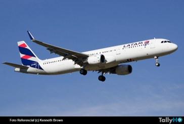 Aeronave LATAM fue devuelta a Santiago ante amenaza de bomba a bordo