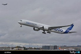 El Airbus A350-1000 realiza su primer vuelo