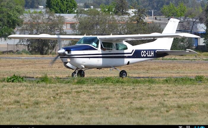 Accidente de avión Cessna 210N en la comuna de Pirque