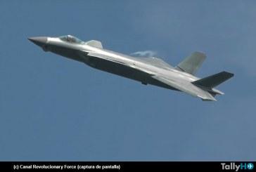 China sorprende con la presentación del nuevo caza J-20