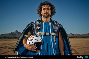 """Sebastián """"Ardilla"""" Álvarez entre los mejores de la única carrera mundial de Wingsuit"""