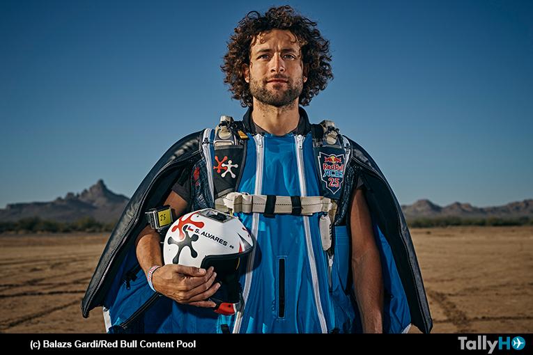 Sebastián «Ardilla» Álvarez entre los mejores de la única carrera mundial de Wingsuit