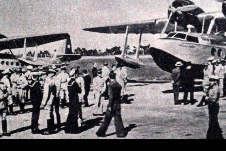 80 años del arribo de los Sikorsky S-43 a la Fuerza Aérea Nacional