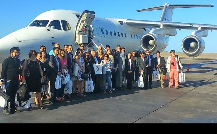 Aerovías DAP inauguró ruta Iquique – Jujuy