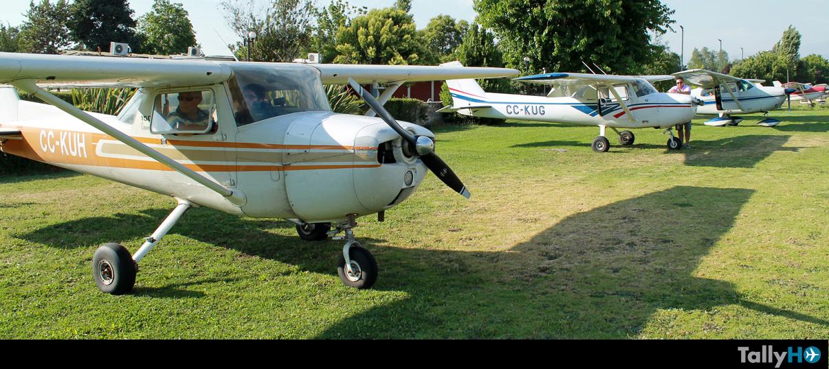 Retorno del Club Universitario de Aviación a Aeródromo La Victoria con pista nueva