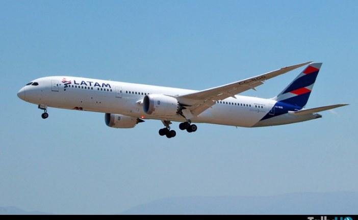 LATAM suspende temporalmente vuelos internacionales de pasajeros en abril