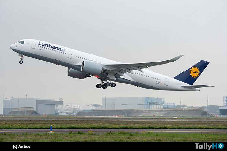 Lufthansa recibe su primer Airbus A350 XWB