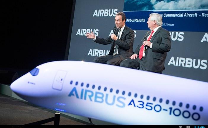 Airbus alcanza un nuevo récord de 688 aviones entregados a 82 clientes