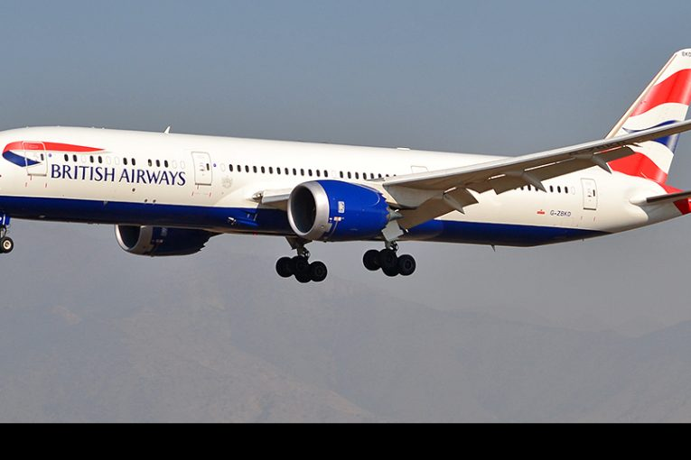 British Airways vuelve a operar a Chile