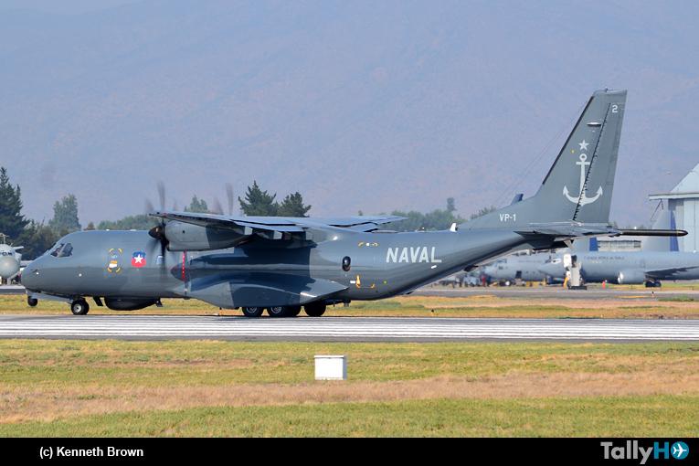 Operaciones del P-295 Persuader de la Armada en los incendios forestales