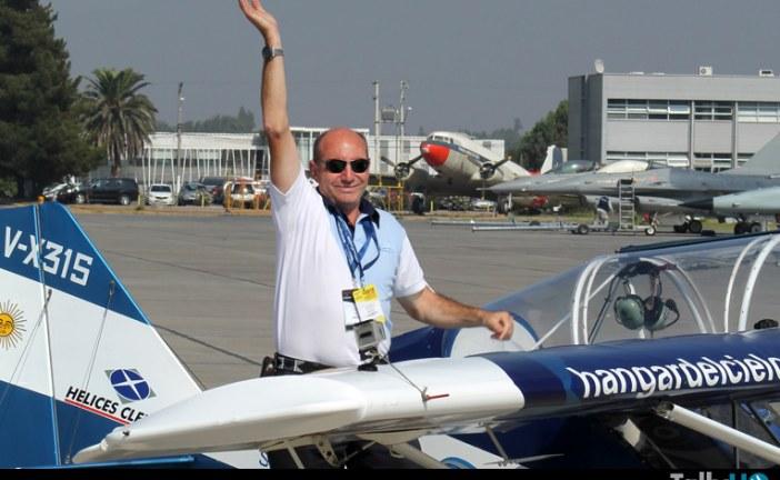 Adiós a un grande de la aviación latinoamericana César Falistocco