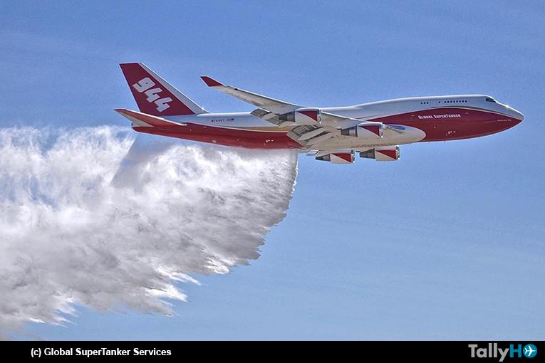 Autorizado a operar en Chile el Boeing 747-400 SuperTanker