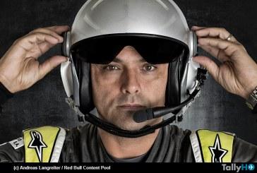 Cristian Bolton listo para competir en la Master Class del Red Bull Air Race 2017