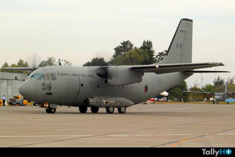 Fuerza Aérea del Perú envía aviones en apoyo al desastre forestal de Chile