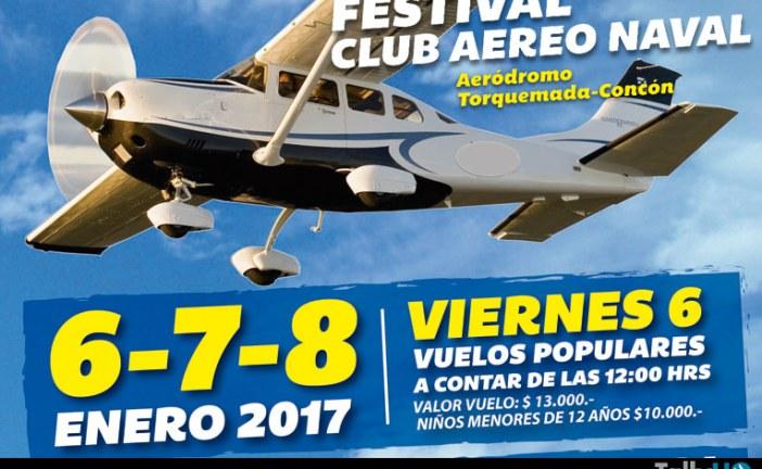Se viene el Festival del Club Aéreo Naval 2017