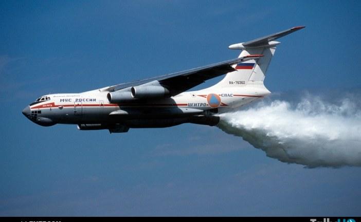 Avión Ruso Ilyushin IL-76 vendrá a Chile a combatir incendios forestales