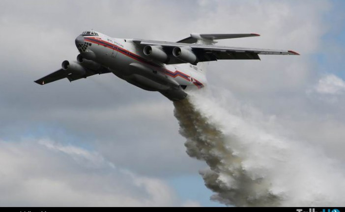 Avión Ilyushin IL-76 viene en camino a Chile