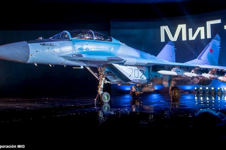 Estreno mundial del más moderno caza ruso el MIG-35