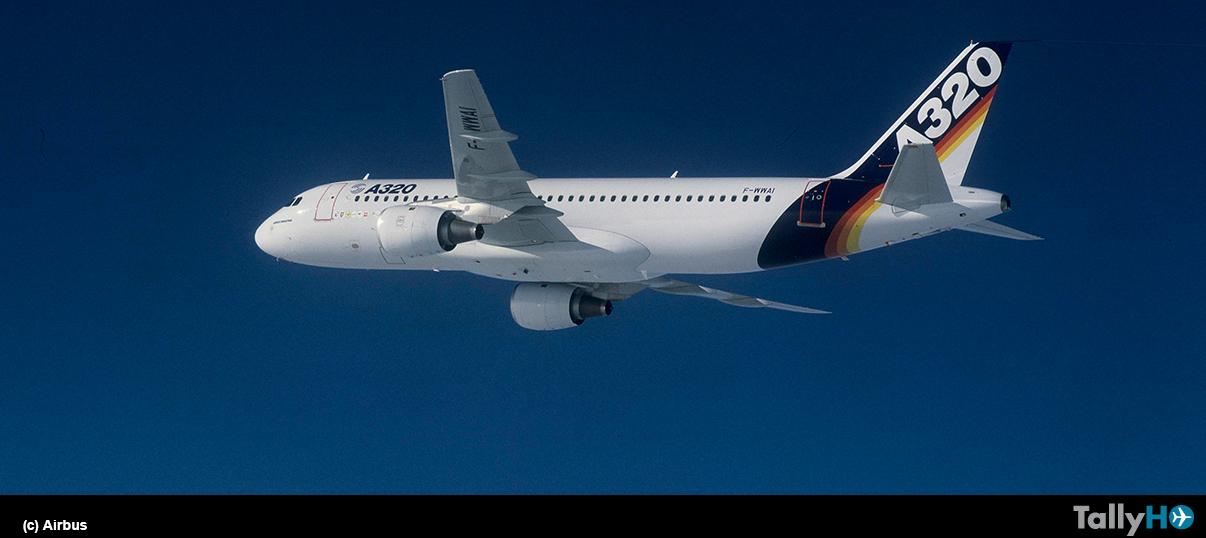 Mundialmente famoso Airbus A320 cumple 30 años de su primer vuelo