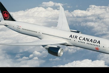 Air Canada presentó nuevo livery