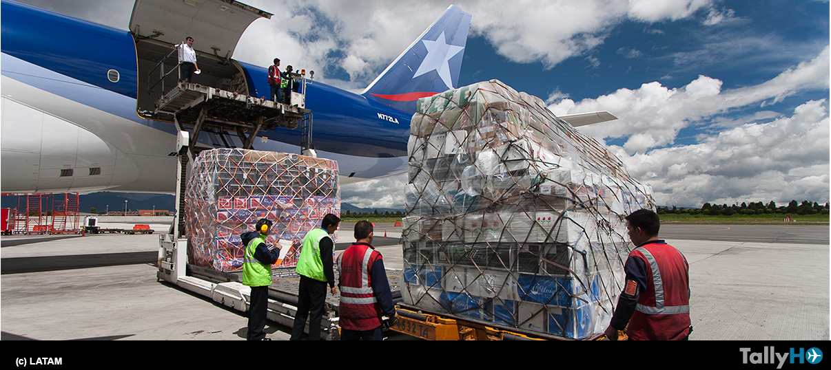 Más de 9.000 toneladas de flores fueron transportadas por LATAM Cargo para San Valentín
