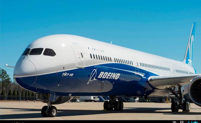 Boeing presentó el 787-10 el tercer integrante de la familia Dreamliner