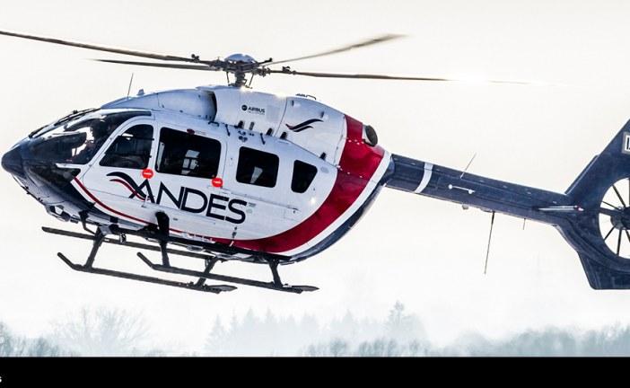 Servicios Aéreos de los Andes se convierte en el primer operador de H145 en América Latina