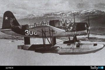 A 70 años del primer vuelo de un avión FACH sobre la Antártica