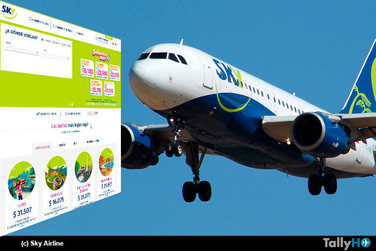 Sky Airline anuncia renovación de aviones para su flota y estrena nuevo sitio web