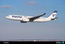 Iran Air recibe su primer A330-200 como parte de su programa de actualización de flota