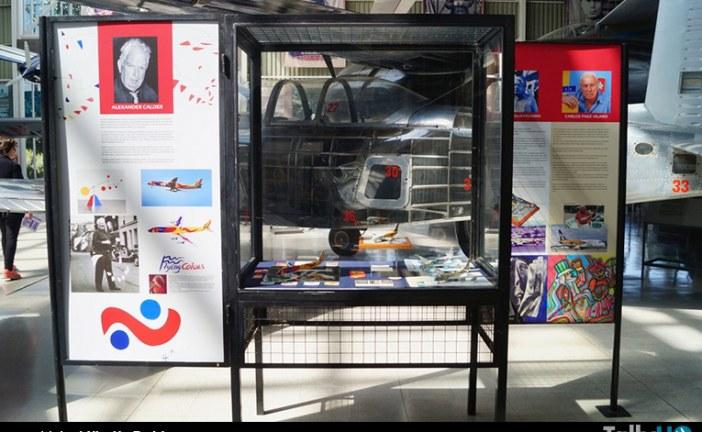 """Inauguración muestra """"Arte en las aeronaves"""" en el Museo Nacional Aeronáutico y del Espacio"""