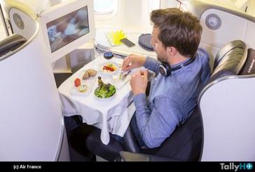 Las nuevas cabinas de pasajeros de Air France arribarán a Santiago