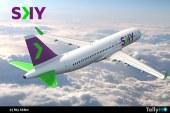 Aerolínea Sky lanza oficialmente nuevo diseño corporativo e implementación total Low Cost