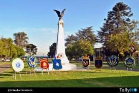 Centenario del monumento a los mártires de la aviación militar