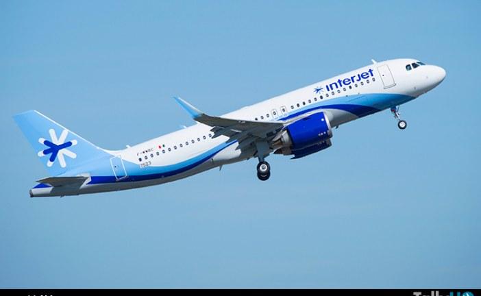 Interjet recibió su primer Airbus A320neo con motores CFM de México